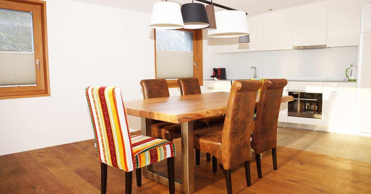 Schweizerhaus maloja soldanella for Wohn und esszimmer 30m2
