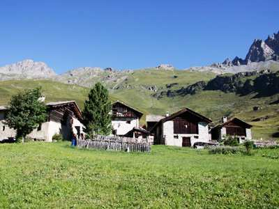 typical village from Heidi in Grevasalvas Maloja