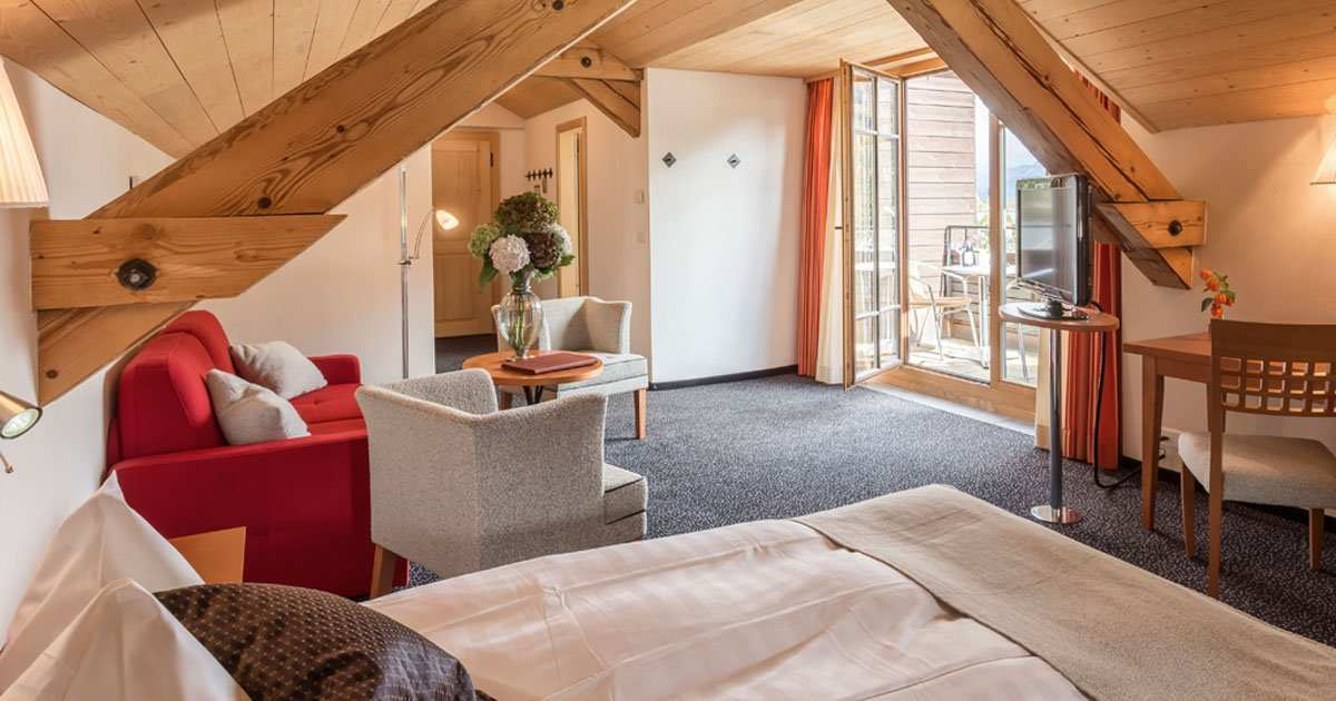 Maloja Suite with view to the lake